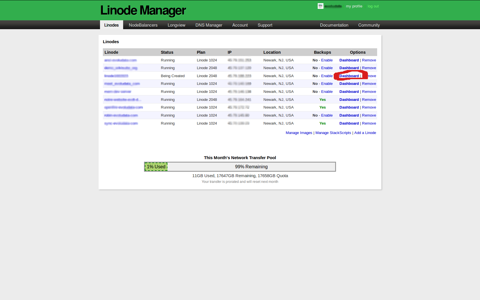 WikiSuite | How to install ClearOS on Linode