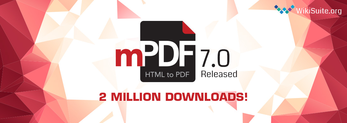Mpdf7 Released2